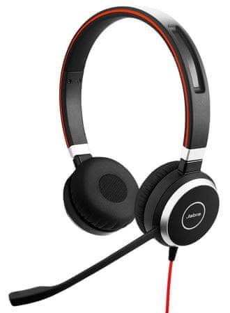 Jabra słuchawki zestaw Evolve 40 Duo MS
