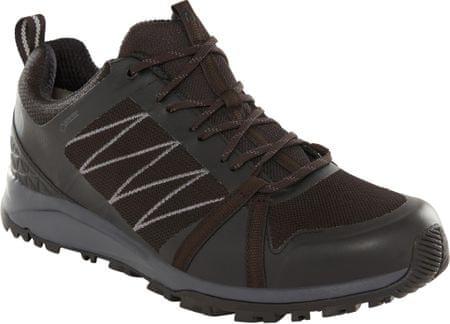 The North Face buty turystyczne męskie M Litewave Fastpack Ii Gtx Tnf Black/Ebony Grey 42,5
