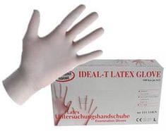 Rokavice latex, 100/1, velikost M