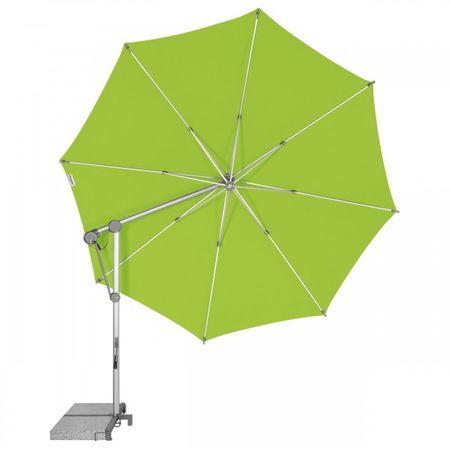 Doppler parasol przeciwsłoneczny przechylany Protect 340 cm, szmaragdowy