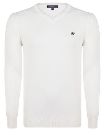 FELIX HARDY moški pulover XXL bela