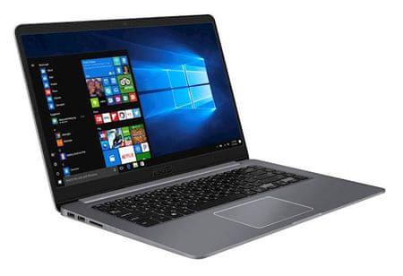 Asus prenosnik VivoBook 15 X510UA-EJ1016T i3-8130U/8GB/SSD 256GB/15,6FHD/W10H (90NB0FQ2-M22790