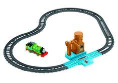 Fisher-Price zestaw tor z lokomotywą Percy