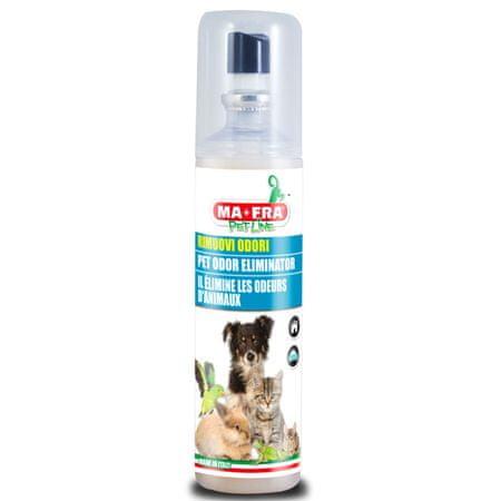 MA-FRA odstranjevalec in nevtralizator vonjav hišnih ljubljenčkov, 125 ml