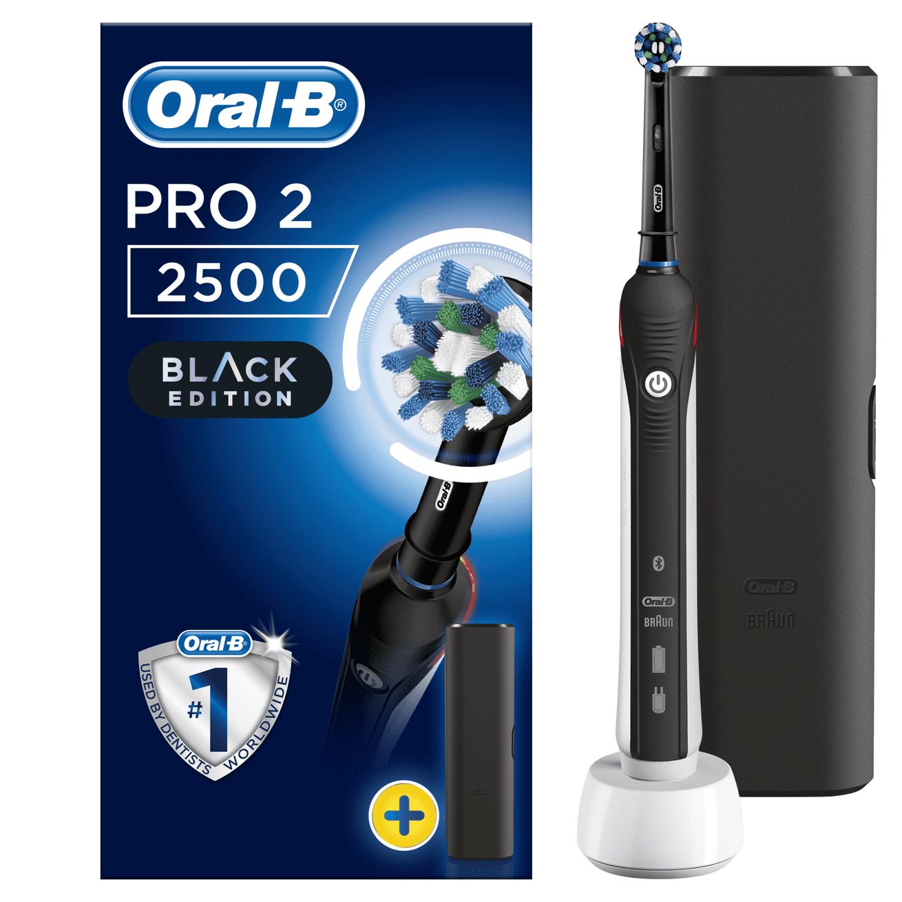 Oral-B Pro 2 2500 Black Edition Cross Action
