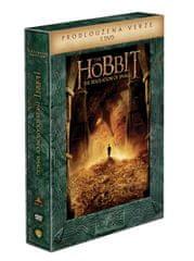 Hobit: Šmakova dračí poušť - prodloužená verze (5DVD) - DVD