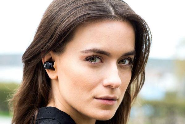 Sluchátka Sudio Nivå Bluetooth minimalismus luxus bezdrátová 10 m dosah