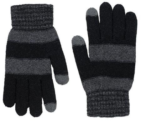 Art of Polo Moške rokavice rk18403.2 Črne