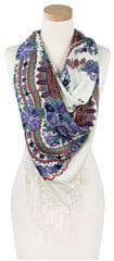 Art of Polo Damski szal sz13023 .15 White