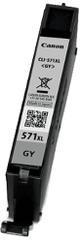Canon CLI-571XL GY, šedá (0335C001)