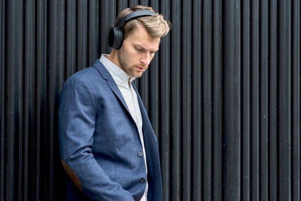 Sluchátka Sudio Klar ANC technologie mute aktivní potlačení okolního hluku