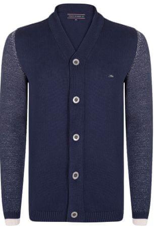 FELIX HARDY sweter męski M ciemny niebieski