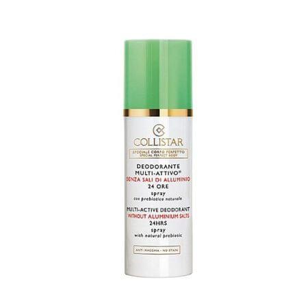 Collistar sprayu dezodorant bez zawartości glinu 24 h (Multi-aktywny dezodorantu, 24H) 100 ml
