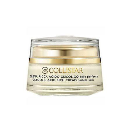 Collistar Pleť AC krema glikolna kislina Perfecta ( Pure Active s Glycolic Acid Rich Cream Perfect Skin ) 50 m