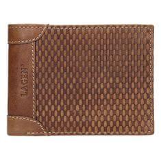 Lagen Moška usnjena denarnica 5435 Konjak