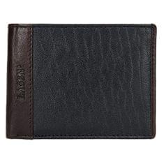 Lagen Moška usnjena denarnica 5433 Črna