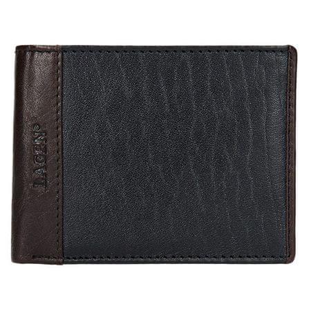 Lagen Pánska kožená peňaženka 5433 Black