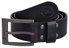 MEATFLY Pánský kožený opasek Doppler A-Black