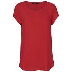Vero Moda Bluzka damska Boca Ss Bluza Noos Chinese Red