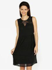 ba974f9a7ce1 Vero Moda černé šaty s krajkou Dacey