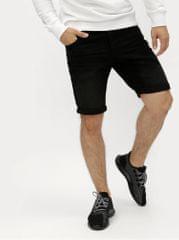 Shine Original černé džínové tapered fit kraťasy
