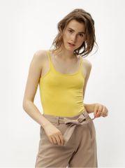 Jacqueline de Yong žluté basic body Ava
