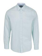 Hackett London zeleno-bílá vzorovaná košile Dotty