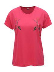 Jacqueline de Yong růžové tričko s potiskem Nixon