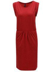 Tranquillo červené vzorované šaty Indica
