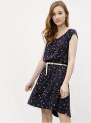 Ragwear tmavě modré dámské vzorované šaty Zephie