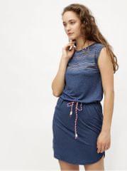 Ragwear tmavě modré šaty se vzorem Valencia