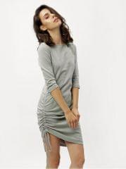 ZOOT šedé šaty s 3/4 rukávem