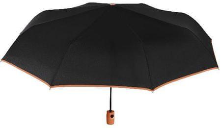Blooming Brollies Dámsky dáždnik Perletti Black 25913C