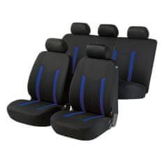 Walser Poťahy sedadiel na celé vozidlo Hastings - modré/čierne