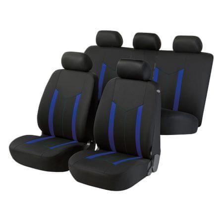 Walser Potahy sedadel na celé vozidlo Hastings - modré/černé