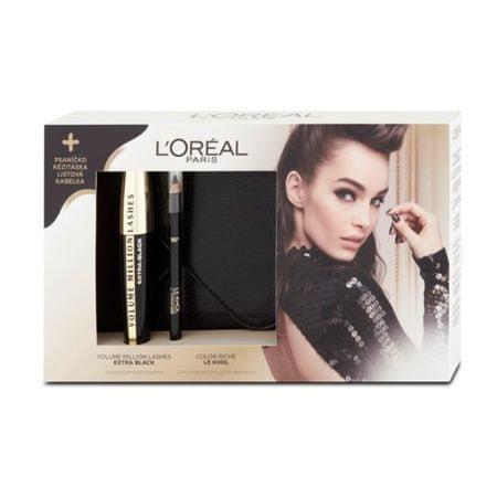 Loreal Paris Zestaw upominkowy kosmetyków kolorowych z kopertówką