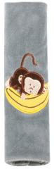 Walser Návlek na bezpečnostný pás Monkey, sivý - od 5 rokov (26082)
