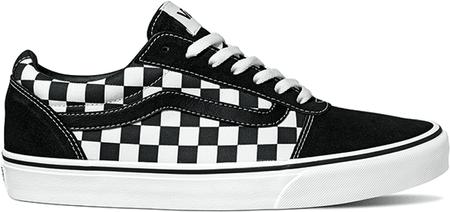 Vans Mn Ward Checkered Bla 44.5