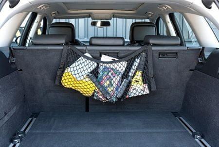 Walser siatka bagażowa, tylne siedzenia 30 × 65 cm