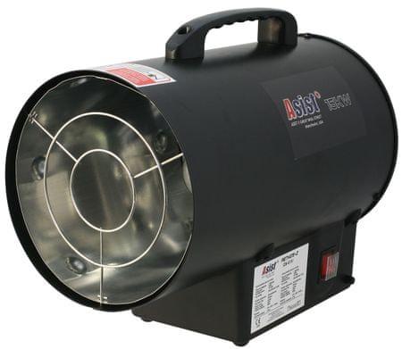 ASIST 15kW-os forrólevegős gázturbina szabályozóval és csövekkel