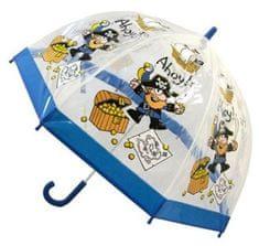 Blooming Brollies Przeźroczysty parasol Bugzz Kids Stuff Pirate BUPIR