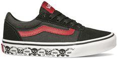 Vans Yt Ward Skull Black/Red