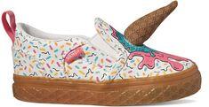 Vans otroški čevlji Td Asher V Ice Cream White