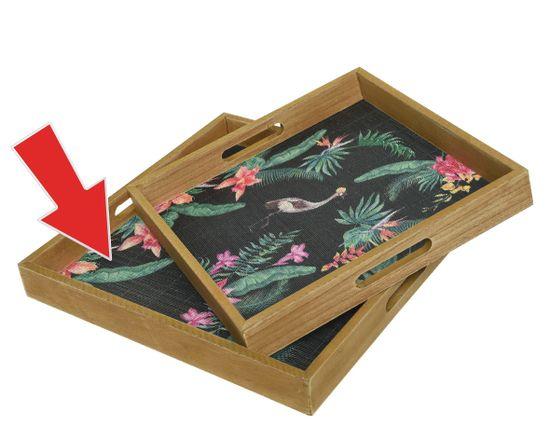 """Kaemingk Podnos """"bamboo"""", 30 x 30 x 4 cm"""