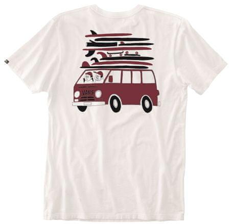 Vans dětské tričko s krátkým rukávem Yusake 3 bílá