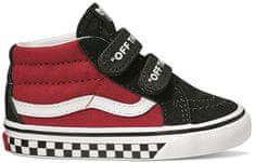 95eac304c24b3 Vans Td Sk8-Mid Reissue V Logo Pop Black/Red