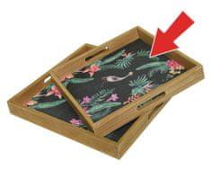 """Kaemingk Podnos """"bamboo"""", 34 x 34 x 4 cm"""