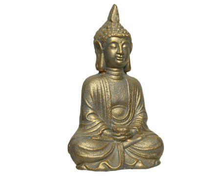 Kaemingk Posąg Buddy - złoty