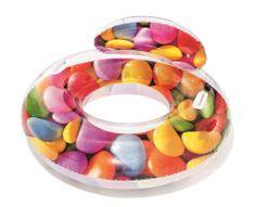 Bestway Nafukovacia sedačka Candy s držadlami, 118x117 cm