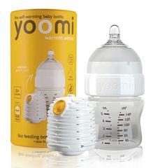 Yoomi 5oz Bottle/Warmer/Teats - Y15B1W